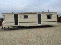 Two bed static caravan to rent £500 pm