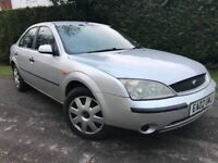2002 Ford Mondeo 2.0 manual long mot drives perfectly