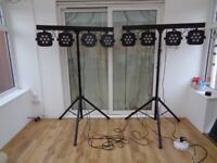 Complete (portable) lighting rig for band/DJ