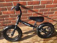 Child's stompee balance bike