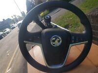 Vauxhall Insignia Drives Air Bag/Steering Wheel