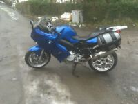BMW f800 st great commuter plus extras