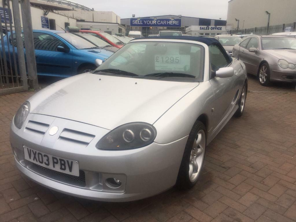 2003 03 MG TF 135 COOL BLUE CONVERTIBLE SPECIAL EDITION MODEL SUPERB DRIVE MASSIVE HISTORY LONG MOT