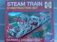Haynes steam train construction set. New. Like Meccano.