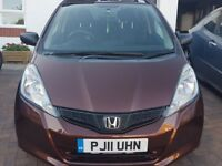 Honda Jazz I-vtec S 5 Dr, 2011, Bronze, good condition