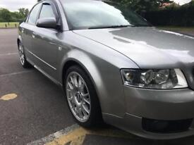 Audi A4 1.8t Sport 190bhp, 6 speed Manual, Leather, 250bhp stage 2