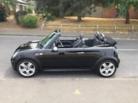 2005 05 Mini Cooper S 1.6 convertible v low mileage. CARDS ACCEPTED...WARRANTY/DELIVERY