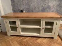 Cousins TV cabinet, coffee Table and two side tables