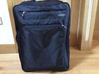 Black Expandable suitcase