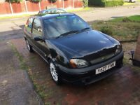 Ford Fiesta zetec s zs, modified 1.6 loads of service history/receipts