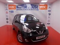 Nissan Micra ACENTA (£30.00 ROAD TAX) FREE MOT'S AS LONG AS YOU OWN THE CAR!!! (black) 2014