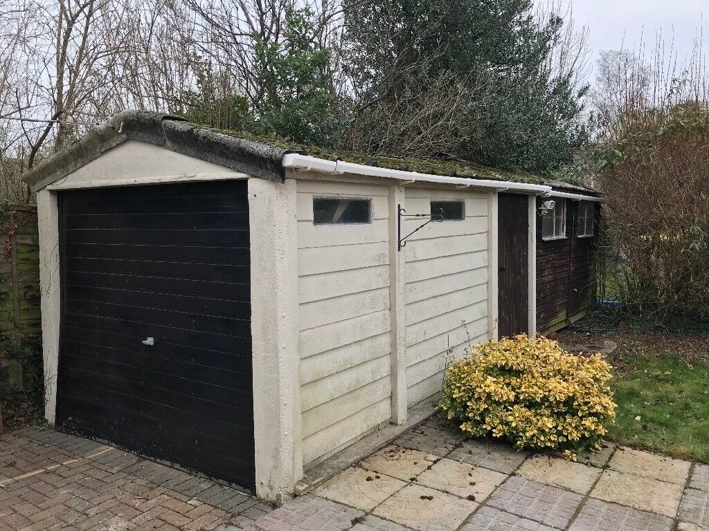 For sale: Concrete garage shell! £0 if you dismantle and take away ...