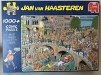 1000 piece Comic Puzzle by Jan Van Haasteren