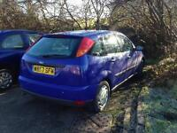 Ford focus 1.4 £350ono