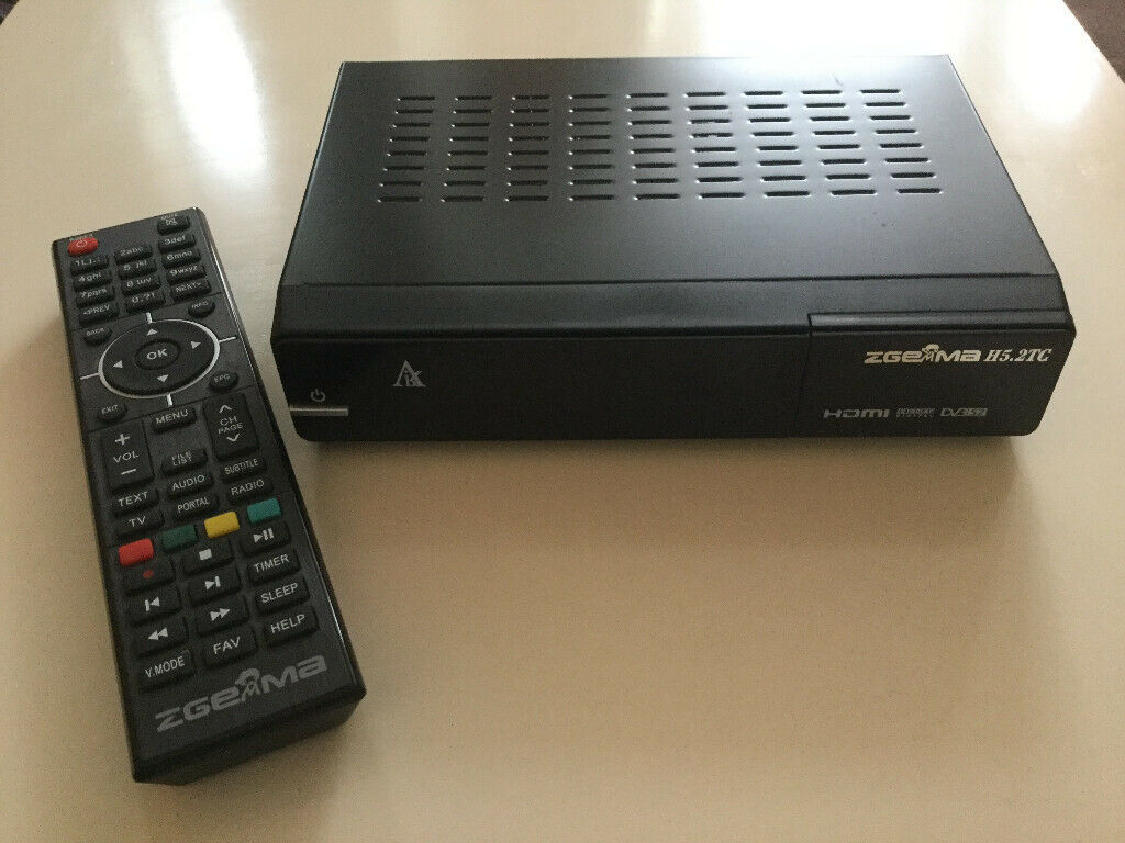 ZGemma H5 2TC Satellite Box | in Birkenhead, Merseyside | Gumtree