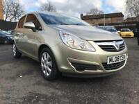 VAUXHALL CORSA 1.4 CLUB AUTO * ONLY 59000 MILES + 10 MONTHS MOT + AUTOMATIC ***