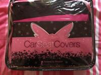 Powered by fairy dust car seat covers full set