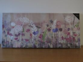 Brand New 'Summer Meadow' Large Canvas