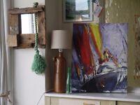 Sail Boat Canvas