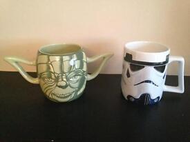 2 x Star Wars Mugs Large