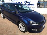 VOLKSWAGEN POLO 1.4 SEL 5d 85 BHP A GREAT EXAMPLE INSIDE AND OUT (blue) 2010
