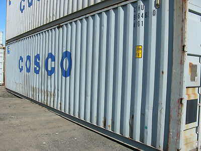 Used 40 High Cube Steel Storage Container Shipping Cargo Conex Seabox Memphis