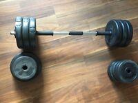 30KG dumbbell/barbell