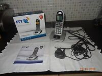 B.T. 4000 Telephone WITH CALL BLOCKER.bought last Feburary still under warrenty ,as new condiction