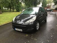 "2010 (59) PEUGEOT 207 5DR 1.4 PETROL LONG MOT ""FSH + DRIVES VERY GOOD + MUST BE SEEN AND DRIVEN"""