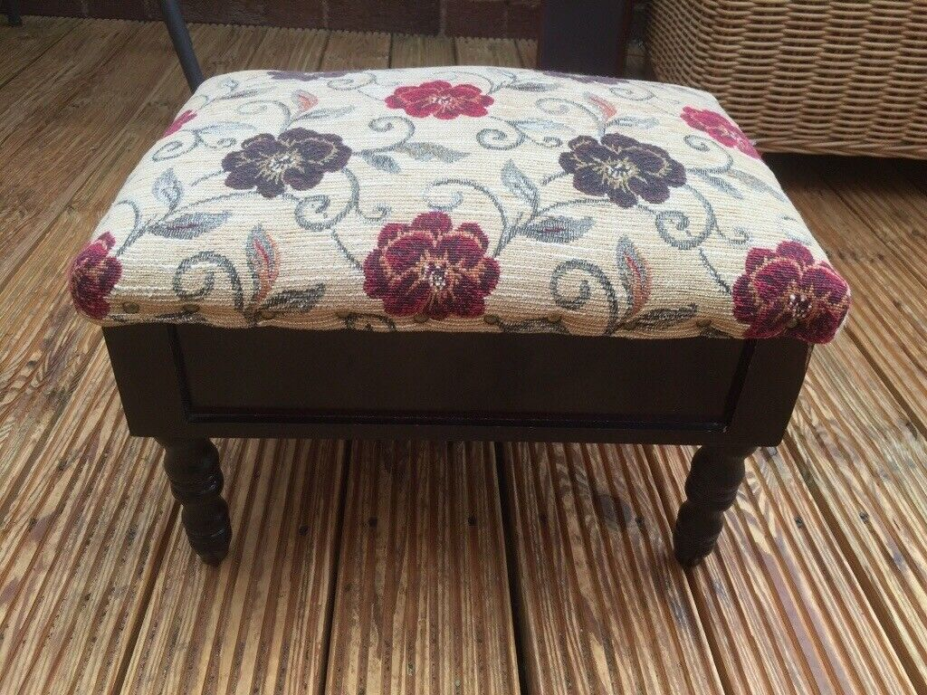 Foot Stool With Storage In Worcester Worcestershire Gumtree