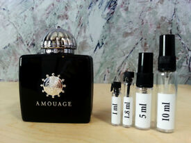 Amouage - Memoir woman fragrance samples and decants - HelloScents