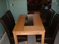 Dining Table & 4 Chairs VGC Ballymena