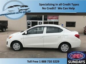 2017 Mitsubishi Mirage G4 ES with AC & MUCH MORE! LOW KM (17578)