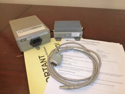 Agilent Keysight 83050a 2ghz - 50ghz Microwave System Amplifier W Power Supply