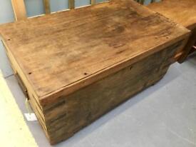 Antique chest. Nostalgia pitch