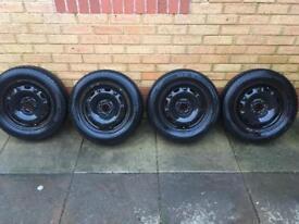 """VW polo steel wheels 14"""" x4"""