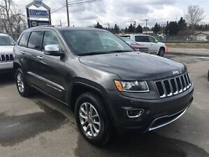 2015 Jeep Grand Cherokee LIMITED/ LEATHER/ SUNROOF