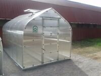 Super strong and stable greenhouse covered with polycarbonate up to 40m2