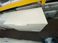 White whirlpool W 115cm chest freezer good condition with guarantee