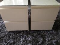 Ikea 2 drawer cabinets