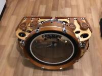 Farmer foot drum, one man band, drum kit