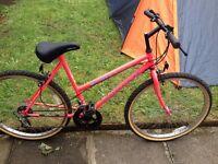 "Apollo womens bike 26"" wheels,20"" frame,10 gears fully working order"