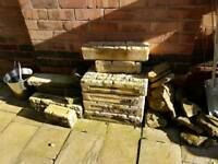 Rockery and decorative wall bricks