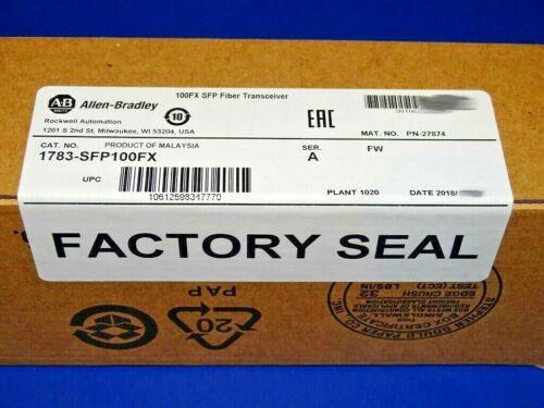 2018 FACTORY SEALED Allen Bradley 1783-SFP100FX Stratix Fiber SFP Transceiver