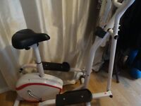 2-in1 cross trainer/bike - Davina McCall - good condition - fully functioning, already assembled