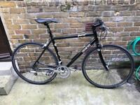 Genesis road bike 56 cm (new parts )