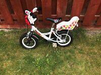 Kids Panda Bikes x 2
