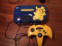 Pokemon Nintendo 64 with games