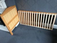 Used pine cot bed