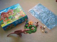 Playmobil Dinosaur Spinosaur Set with Box VGC Ideal Present
